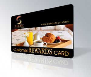 Customer Rewards Card